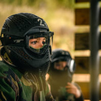 Hen mini paintball