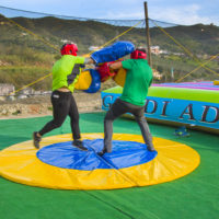 Castillo Takeshi boxeo Paintball Mountain
