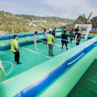 Castillo Takeshi Paintball Mountain footbolin