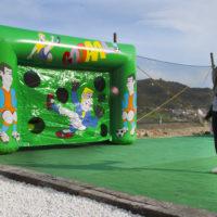Castillo Takeshi Paintball Mountain Goal