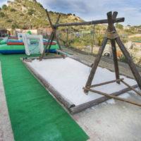 Castillo Takeshi Paintball Mountain Crazy Columpio