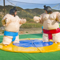 Castillo Takeshi Paintball Mountain Sumo